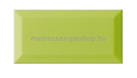 7,5X15 PISTACIA fényes fózolt mini metro csempe