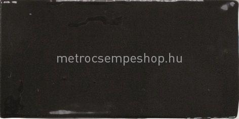 EQUIPE MASIA MATE BLACK 7,5*15 Rusztikus csempe