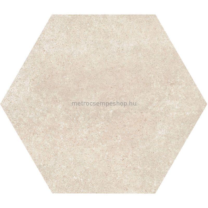 """HEXATILE CEMENT - Sand """"L"""" cementhatású fagyálló hexagon padlólap"""