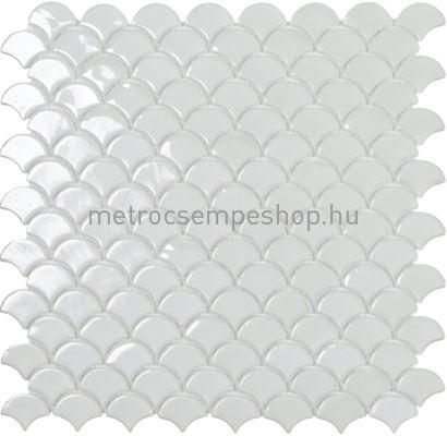 Fehér Scale Mozaik