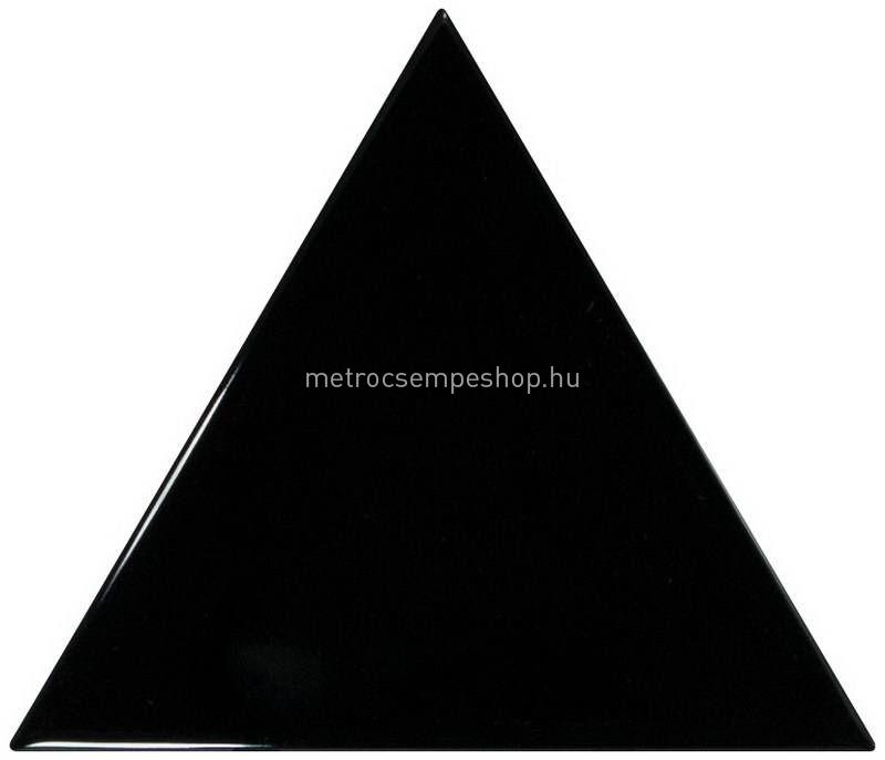 EQUIPE TRIANGOLO Fényes Fekete csempe