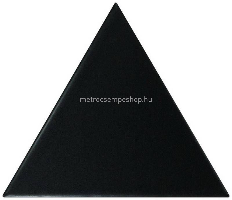 EQUIPE Scale TRIANGOLO MATT Fekete Csempe