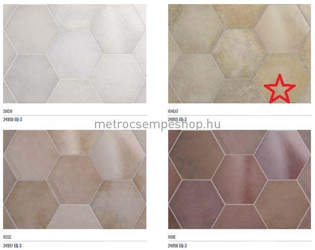 EQUIPE HERITAGE WHEAT hexagon padlólap