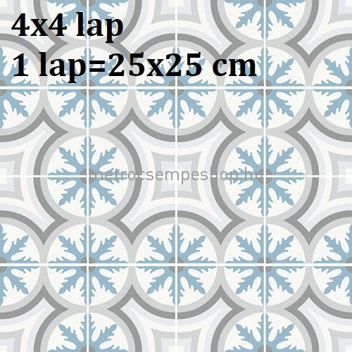 25x25 BarceLeMar Dekor Járólap