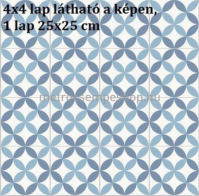 25x25 BarceLeArtr Dekor Járólap