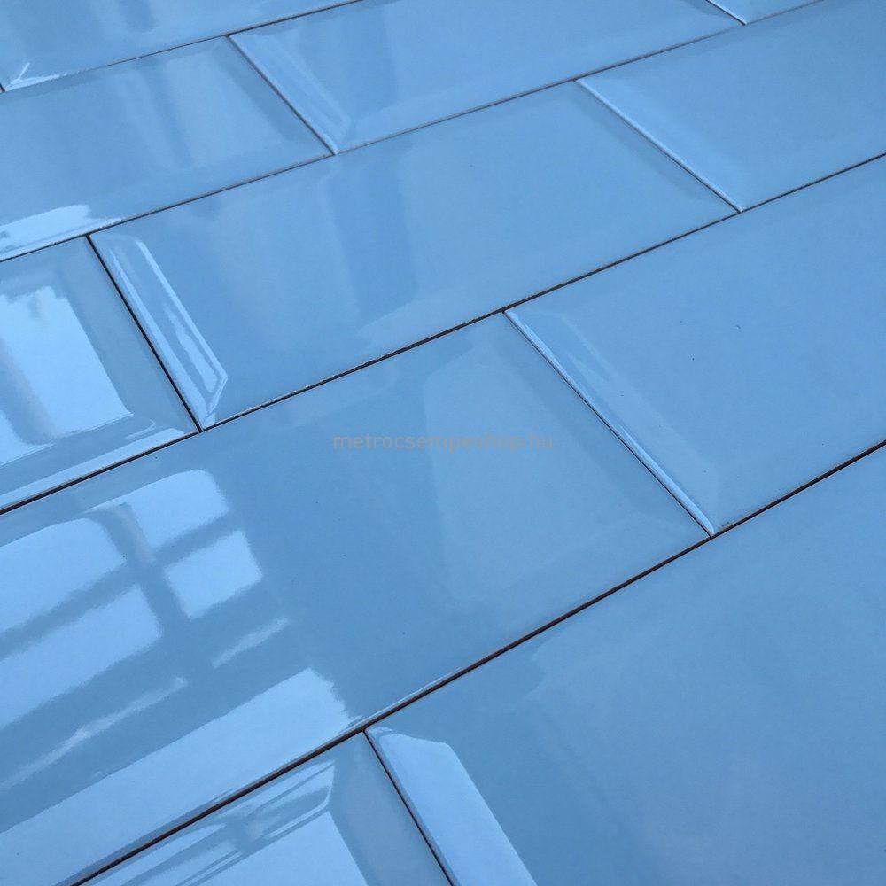 10x20 PISCINA BLUE fózolt metro csempe