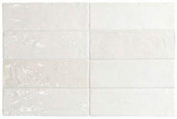 6,5x20 EQUIPE LA RIVIERA Blanc fehér fényes rusztikus csempe